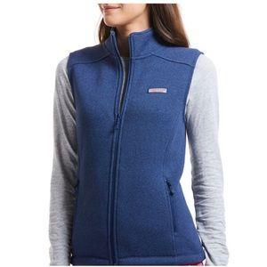 Vineyardvines - Sweater Fleece Vest - Size: XS
